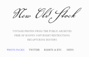 New Old Stock Free Images For Your Website