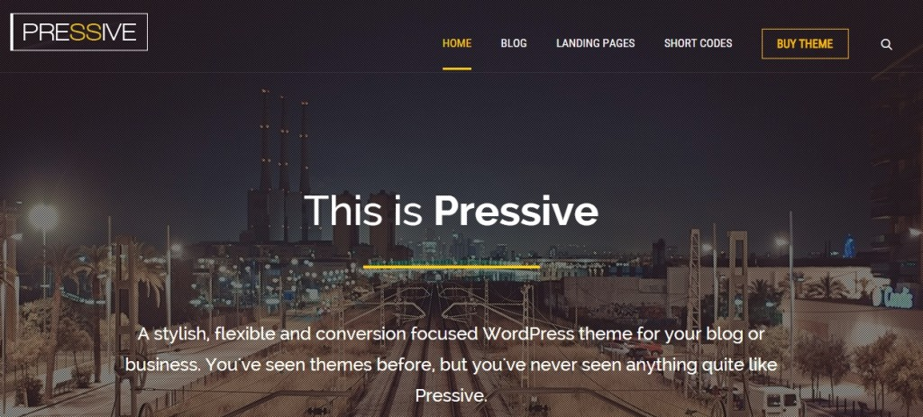 Viral website theme