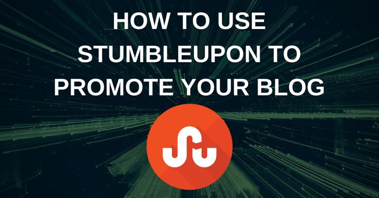 How To Use Stumbleupon To Promote Your Blog