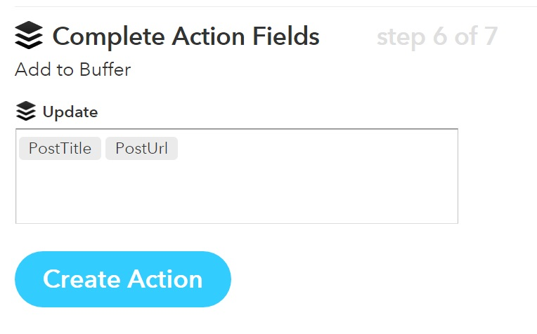 Step 7 IFTTT method