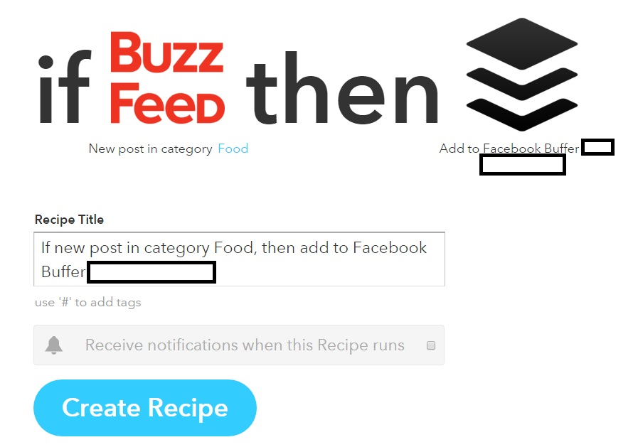Step 8 IFTTT method